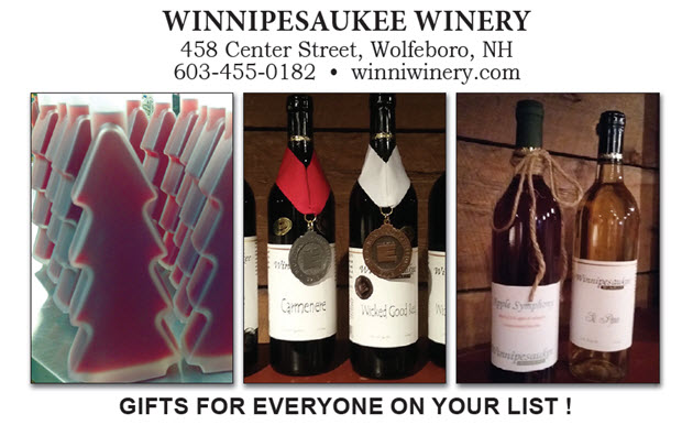 Winnipesaukee Winery gift shop
